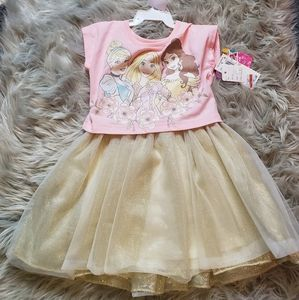 BNWT Disney Princess girls dress size 2T